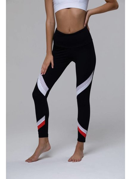 Onzie Onzie Sporty Legging Coral Combo