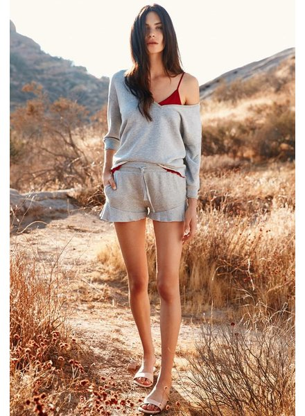 Nation Ltd Aviva Ruffle Shorts