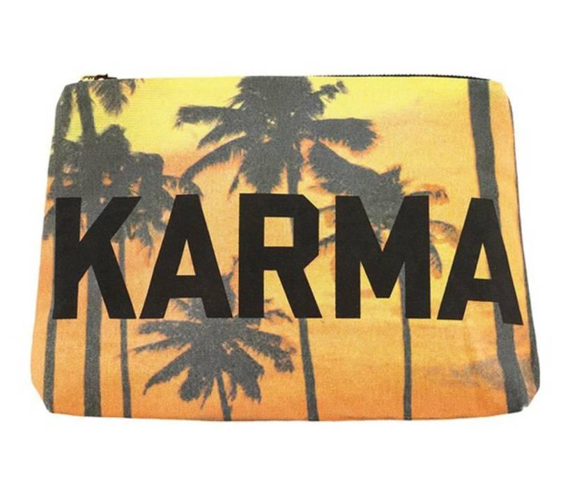 Spiritual Gangster SG Logo Karma Pouch