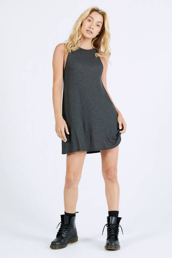 Joah Brown Joah Brown Rhythm Dress Charcoal