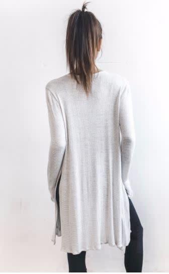 Joah Brown Joah Brown Luna Cardigan Chalk Sweater Knit