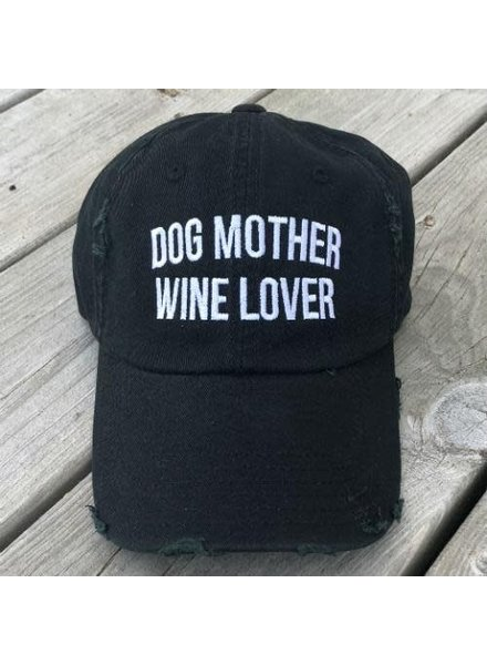 From Pheonix With Love Dog Mother Wine Lover Baseball Cap