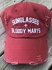 From Phoenix With Love Sunglasses + Bloody Marys Baseball Cap