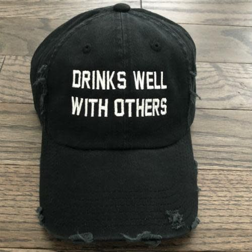 From Phoenix With Love Drinks Well With Others Baseball Cap