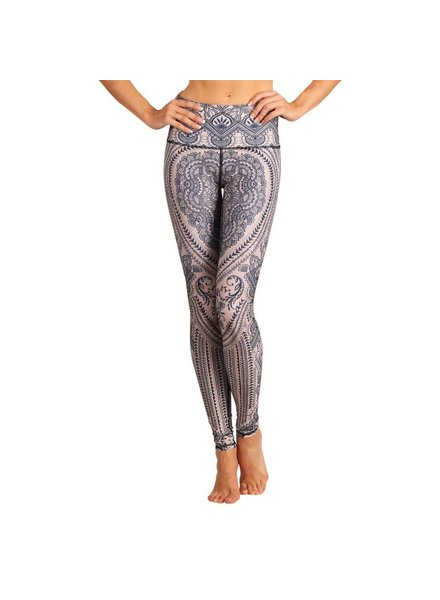 Yoga Democracy Henna My Heart Leggings