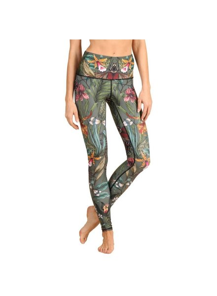 Yoga Democracy Green Thumb Leggings