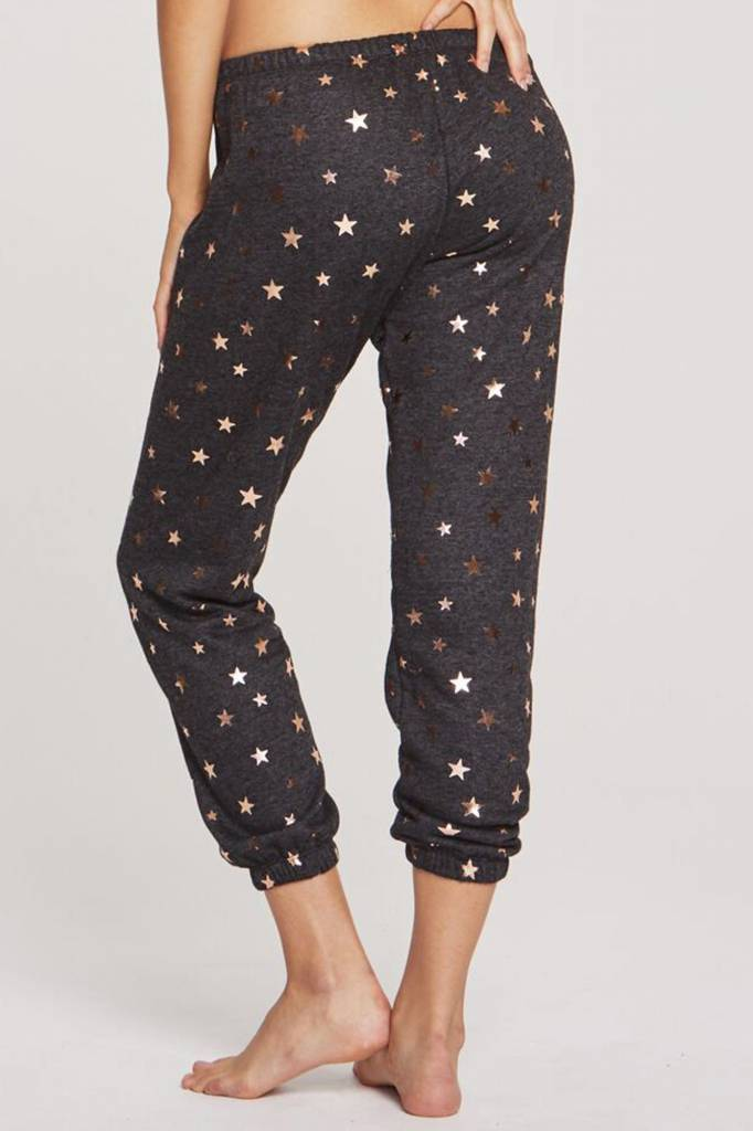 Spiritual Gangster Spiritual Gangster Starry Vibes Cropped Sweatpants