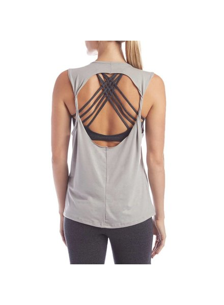 Onzie Onzie Twist Back Top Sand