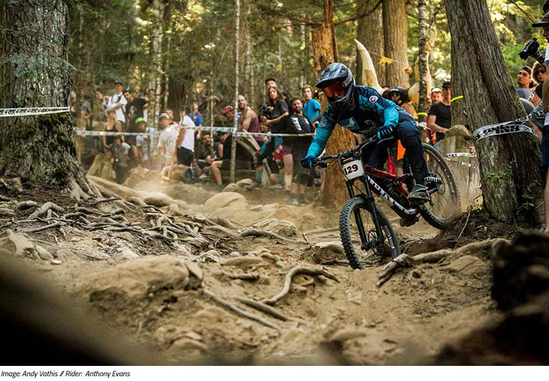 Race Diary: Anthony Evans at the 2017 Crankworx Canadian Open DH