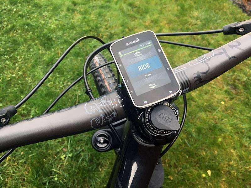 Garmin Edge 520 GPS cyclocomputer