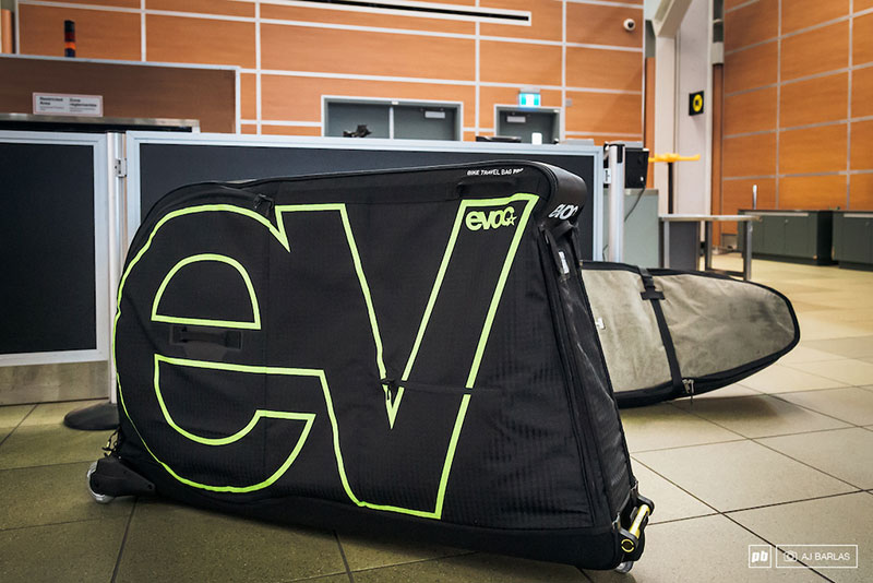 Bike Travel Bag Rentals at Sovereign Cycle