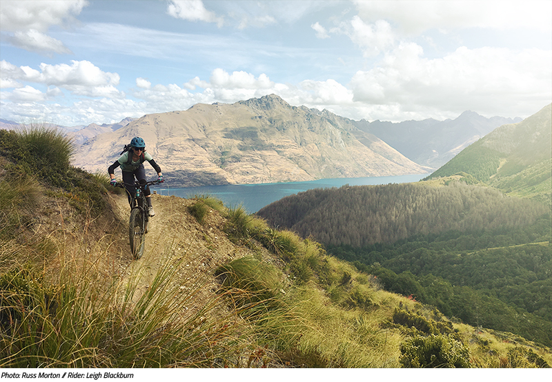 Mountain Biking in New Zealand from the Sovereign Cycle Ride Diary: Always Another Adventure.
