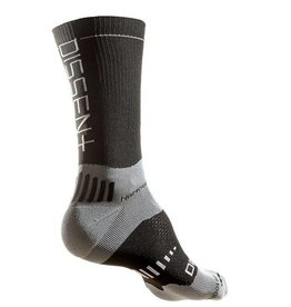 "Dissent Labs Supercrew 6"" compression nano sock"