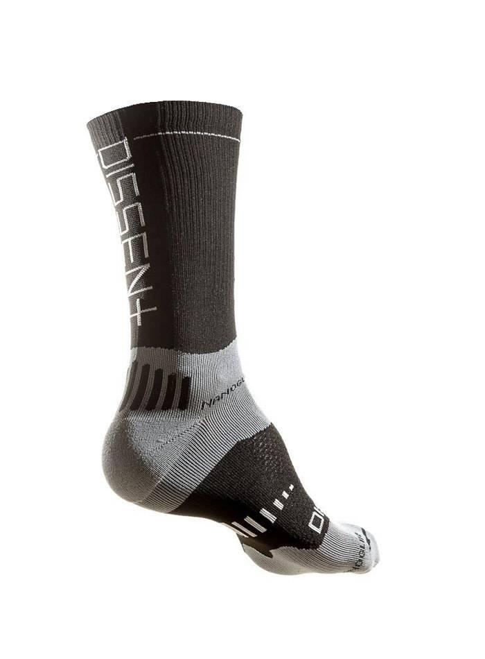 "Dissent Labs Supercrew 6"" compression nano sock"