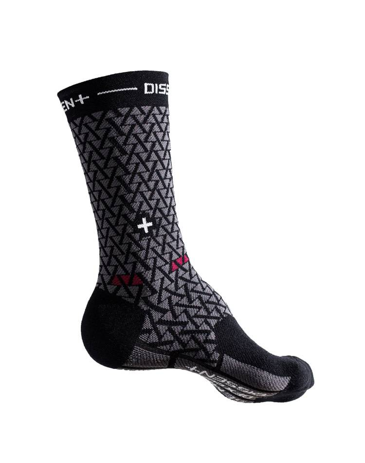 Dissent Labs Genuflex Semenuk compression crew sock