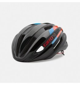Giro Giro Synthe Matte Black Glow Red Blue