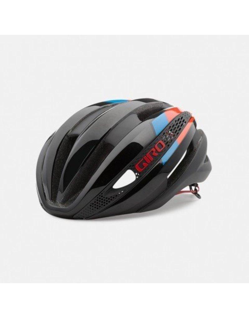 Giro Giro Synthe Matte Black Glow Red Blue