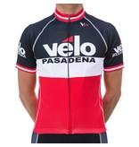 Velo Pasadena VP Jersey '15 Black White Red