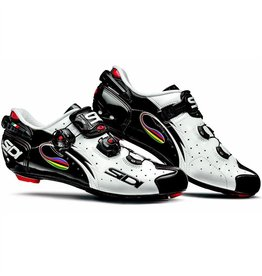 Sidi WIRE VENT CARBON WHITE/BLACK IRIDE PUSH SZ 44.0