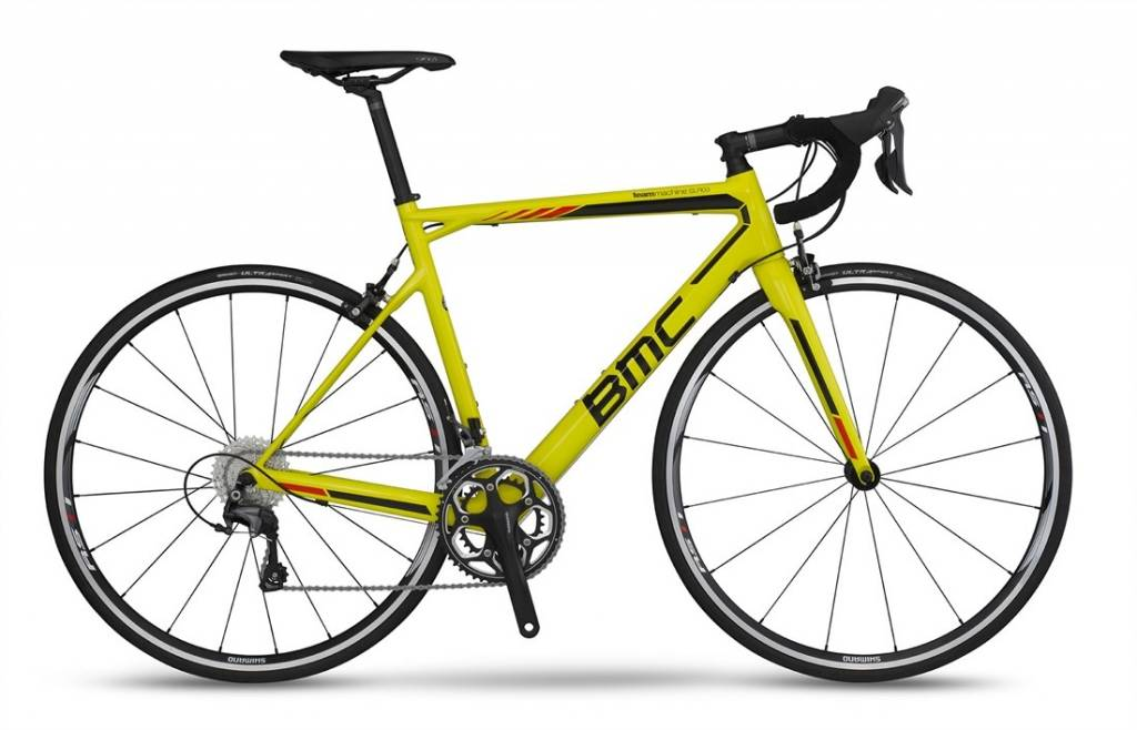 BMC 2016 BMC Teammachine SLR03 Ultegra CT Yellow