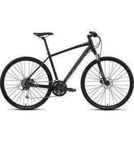 Specialized 2016 Specialized Crosstrail Sport Disc Black Charcoal Red