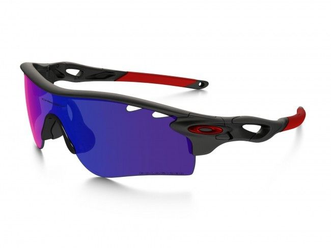 Oakley Oakley Radarlock Path Vented Matte Black Ink 00 Red Iridium Polarized