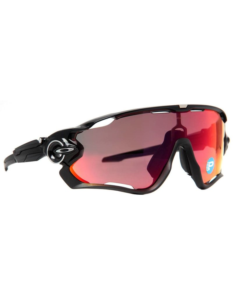 Oakley Oakley Jaw Breaker Black Ink w/ 00 Red Irid Polarized