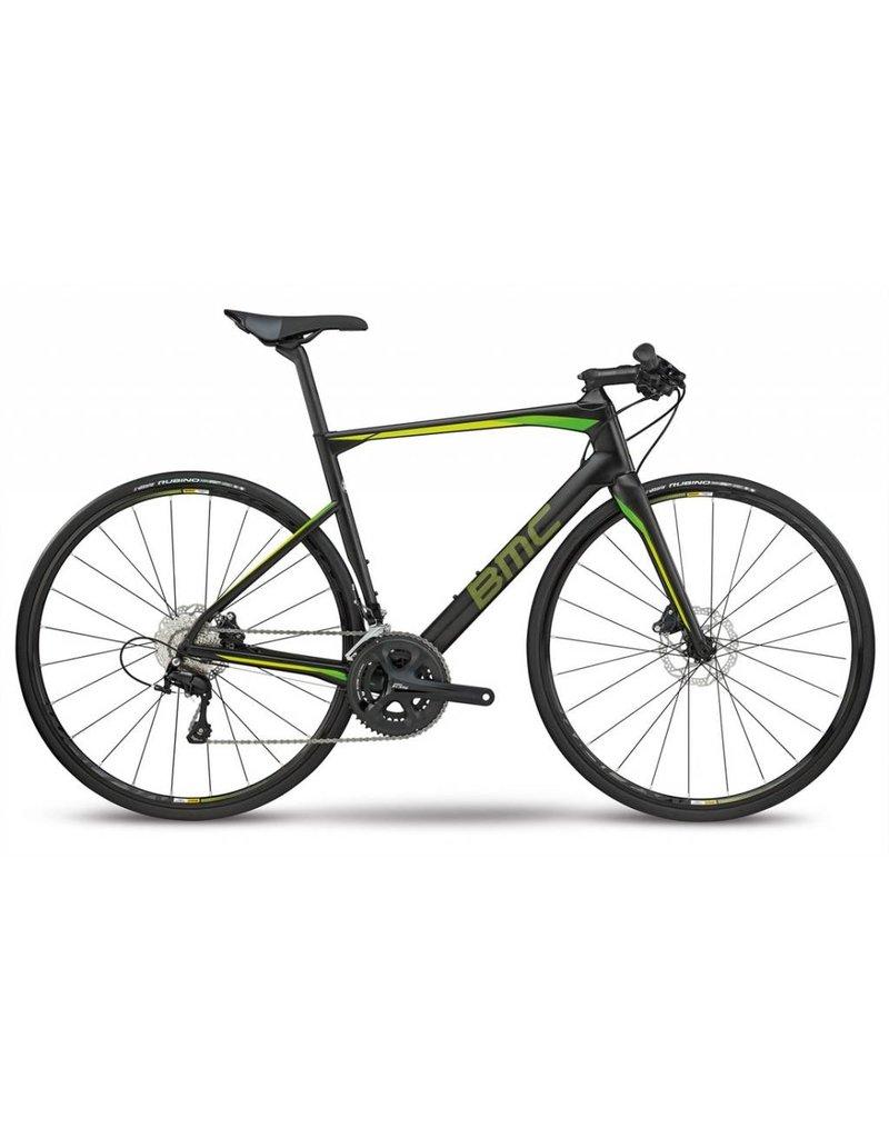 BMC 2018 BMC Roadmachine 02 Flatbar Lime