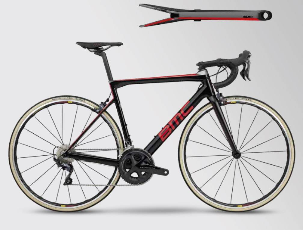 BMC 2019 BMC Teammachine SLR01 Four Carbon Red