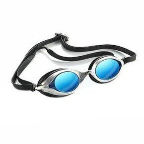 Sable WaterOptics 101Mirror Goggles Silver Frame Blue Lens (A)