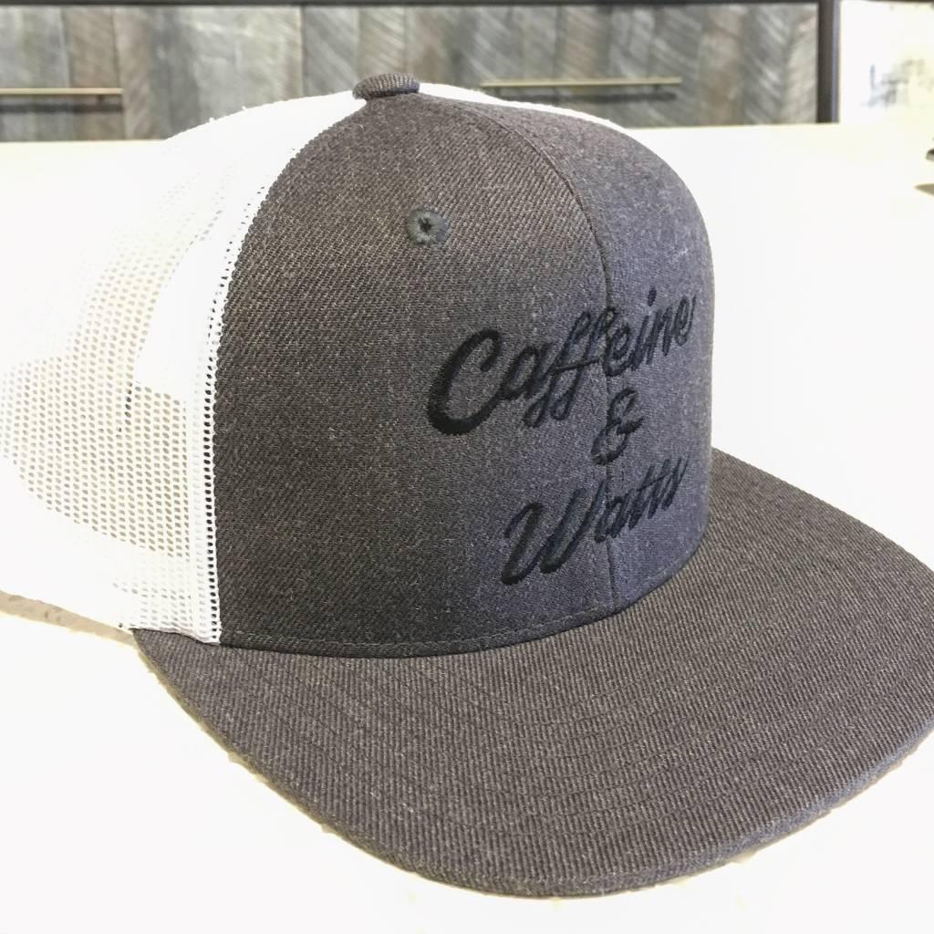 Caffeine and Watts Caffeine & Watts Grey Flatbrim