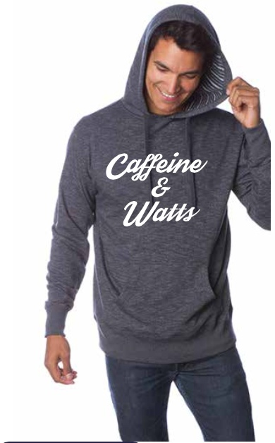 Caffeine and Watts Caffeine & Watts Hoodie - White