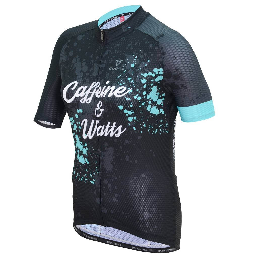 Caffeine and Watts Caffeine & Watts Womens Cycle Tops