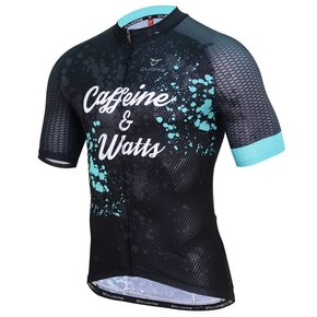 Caffeine & Watts Mens Cycle Tops