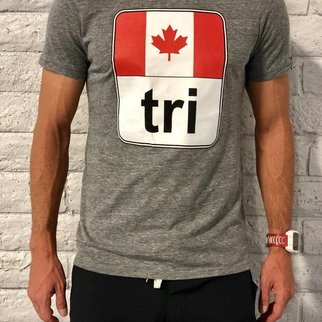 Moxie Store Brand Canada Flag Tri Tee Mens'
