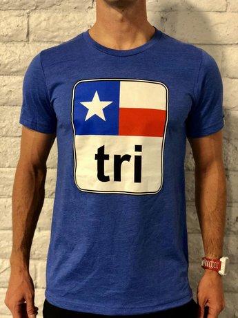 Moxie Store Brand Texas Flag Tri Tee Mens'