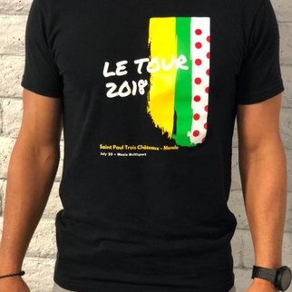 Le Tour 2018  Tee Med
