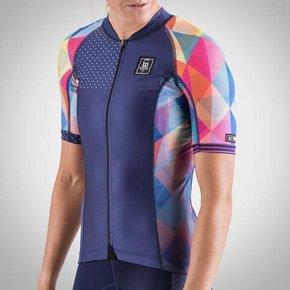 Wattie Ink Women's Prism Contender Cycling Jersey