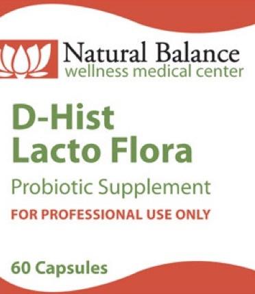 D-HIST LACTO FLORA 60 CT (PROTHERA/KLAIRE)
