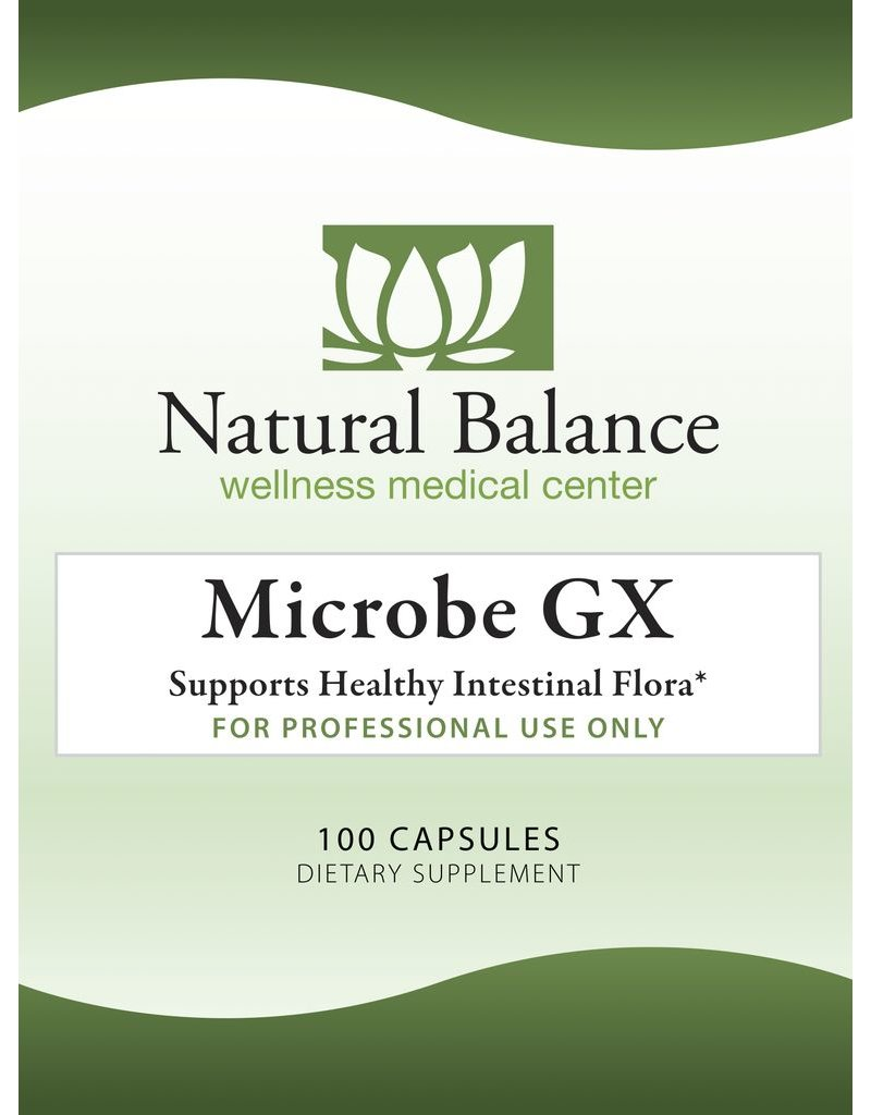 Gastrointestinal Support MICROBE GX 100 CT (NUMEDICA)