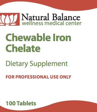 Basic CHEWABLE IRON CHELATE  30 MG 100CT (PROTHERA/KLAIRE)