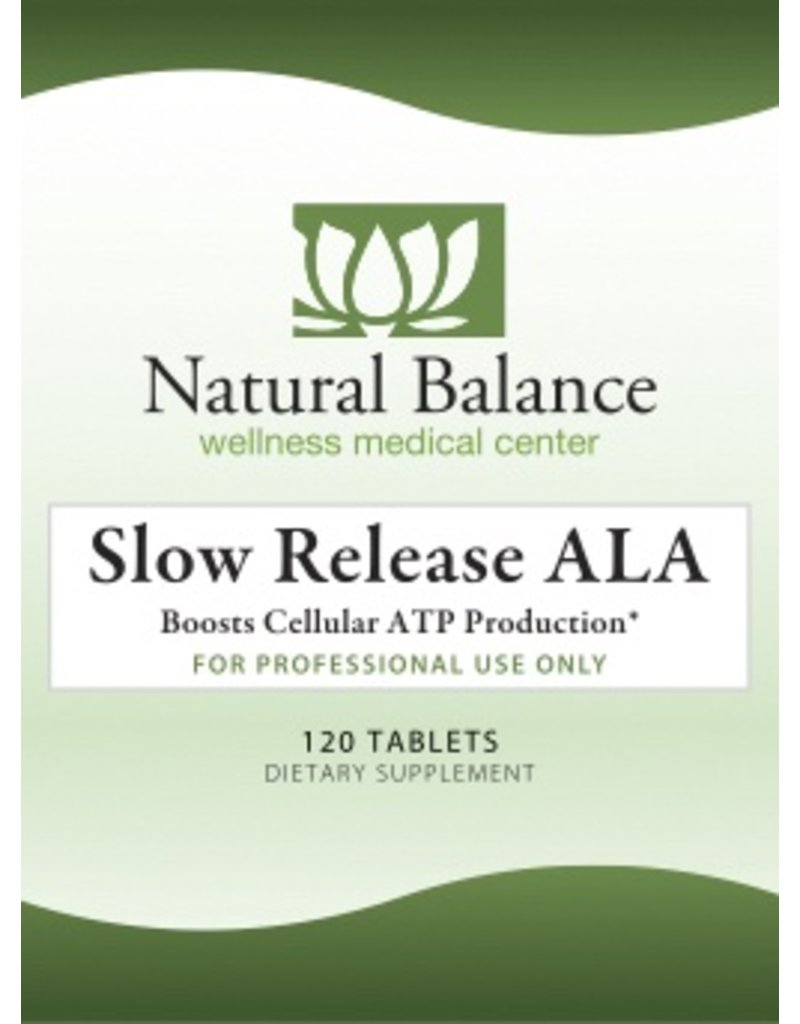 Basic Slow Release ALA (ALPHA LIPOIC ACID) 120CT (NUMEDICA)