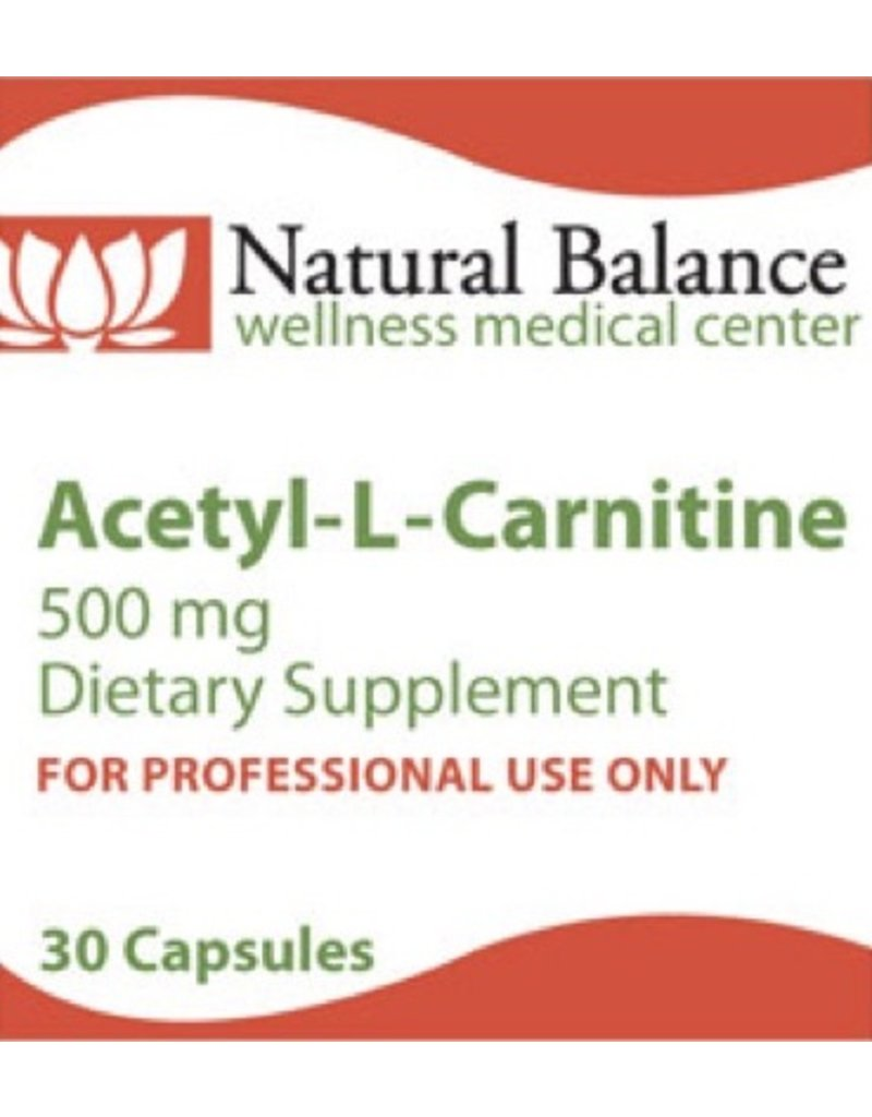 Biomed ACETYL-L-CARNITINE 500 MG 30CT (PROTHERA/KLAIRE)