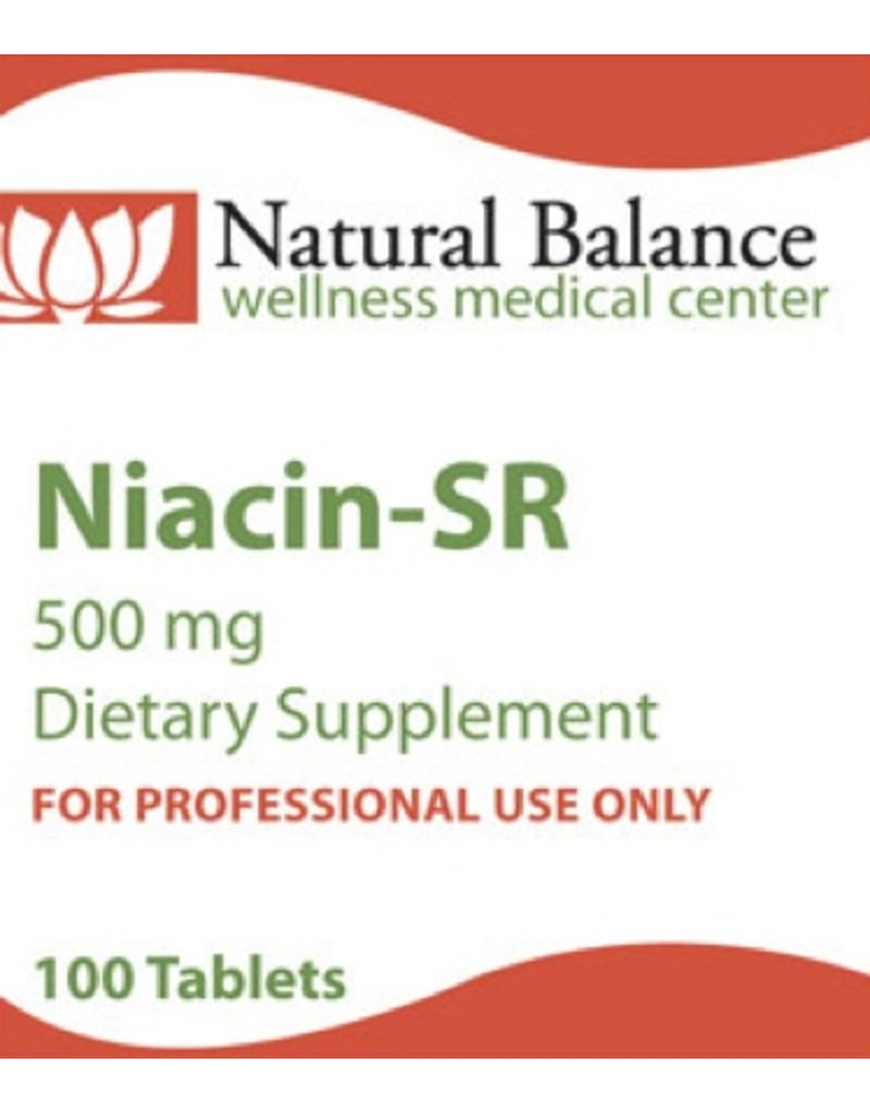 Biomed NIACIN SR 500MG 100CT (PROTHERA/KLAIRE)