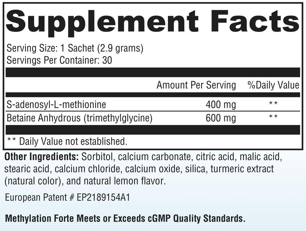 Biomed *METHYLATION FORTE - SAMe/TMG 87GM