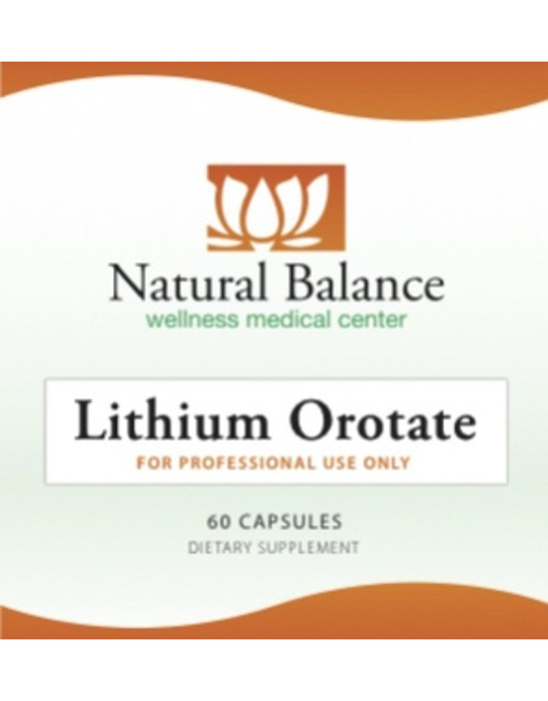 Biomed LITHIUM OROTATE 60CT (ORTHO MOLECULAR)