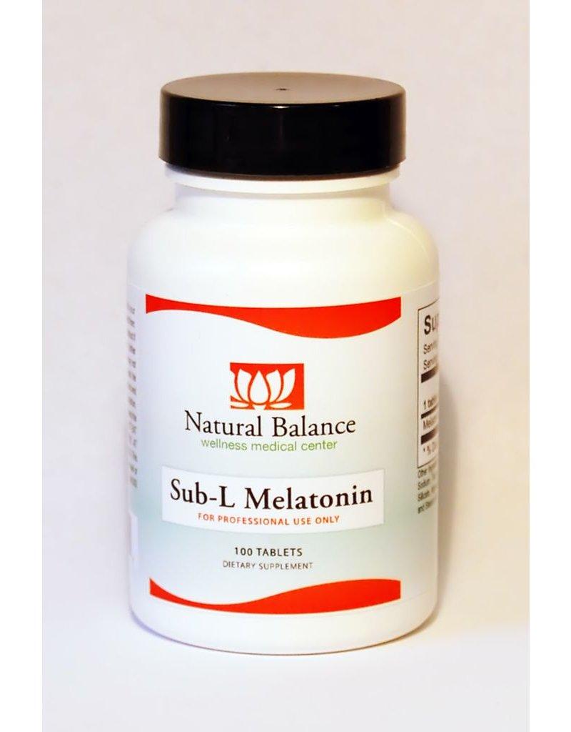 HPA SUB-L MELATONIN 1MG 100CT (ORTHO MOLECULAR)
