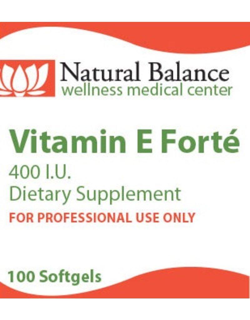 Basic VITAMIN E FORTE 100 CT (PROTHERA/KLAIRE)