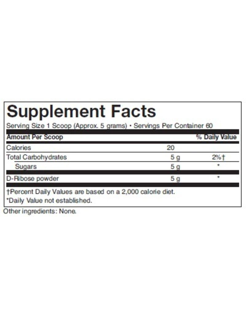 Biomed D-RIBOSE (POWDER), 10.58 OZ, 300 GMS (PROTHERA/KLAIRE)