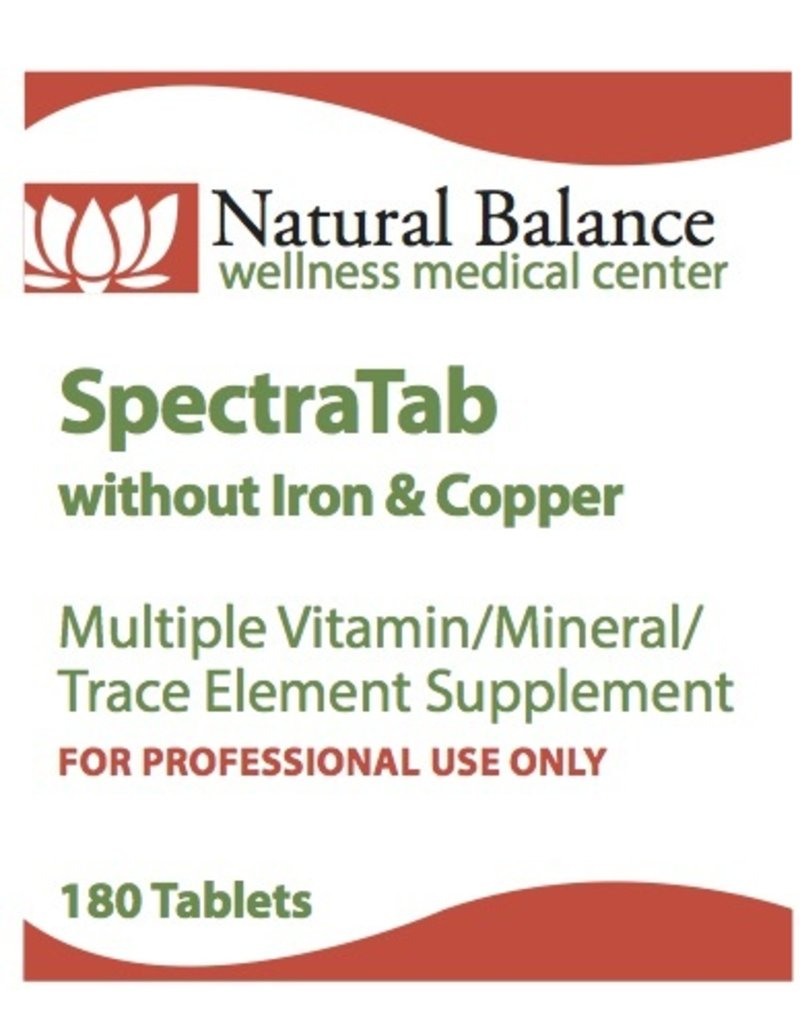 Basic SPECTRATAB W/O IRON AND COPPER 180 CT (PROTHERA/KLAIRE)